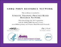 AT-PBRN AHRQ Certificate
